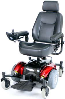 Center Wheel Drive Power Wheelchairs