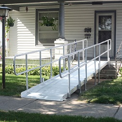 Wheelchair - Scooter Ramps