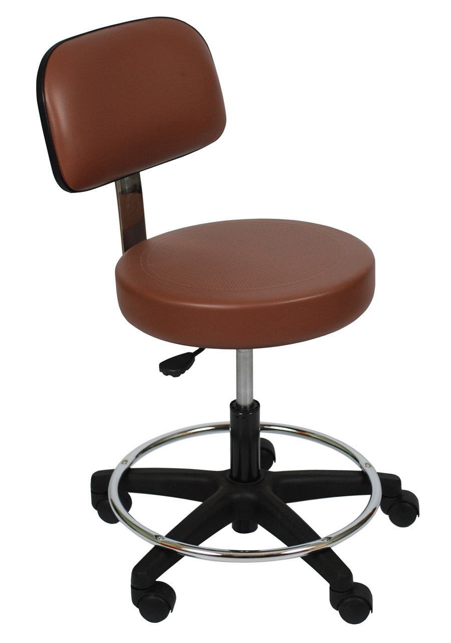 Stools with Backrests