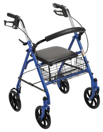 4 wheel Rollator – Walker