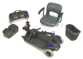 1410 Travel Scooter Disassembled
