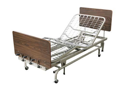 Manual Long Term Care Hospital Bed