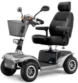3410 Large Four Wheel Scooter
