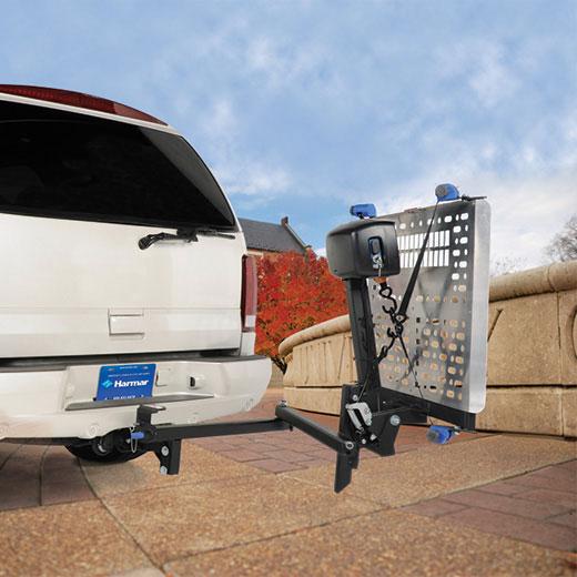 AL500HD Heavy Duty Universal Power Chair Lift 3