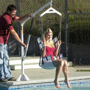 Lowering Pool Lift