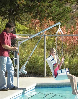 EZ power pool lift