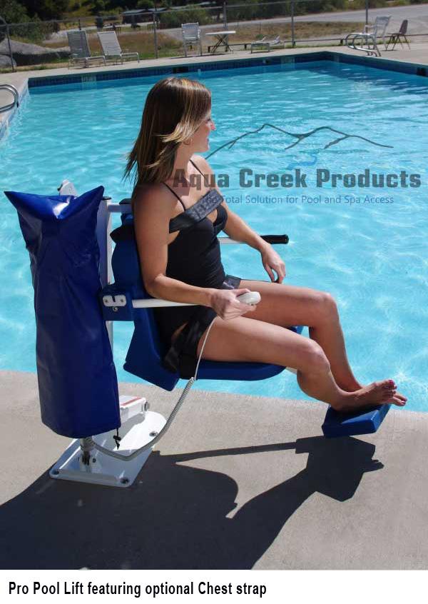 pro pool lift loaded