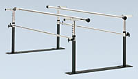 Quick Ship Folding Parallel Bars 7′
