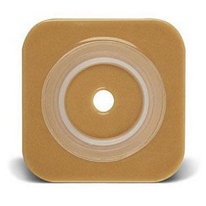 ConvaTec SUR-FIT Natura Stomahesive Cut-to-Fit Skin Barrier, Flange, 4″ x 4″
