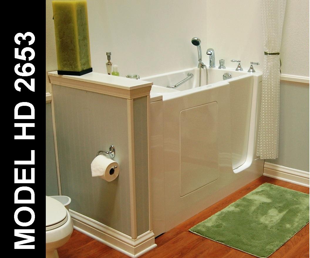 Hydro Dimensions 2653 Walk-In Bathub