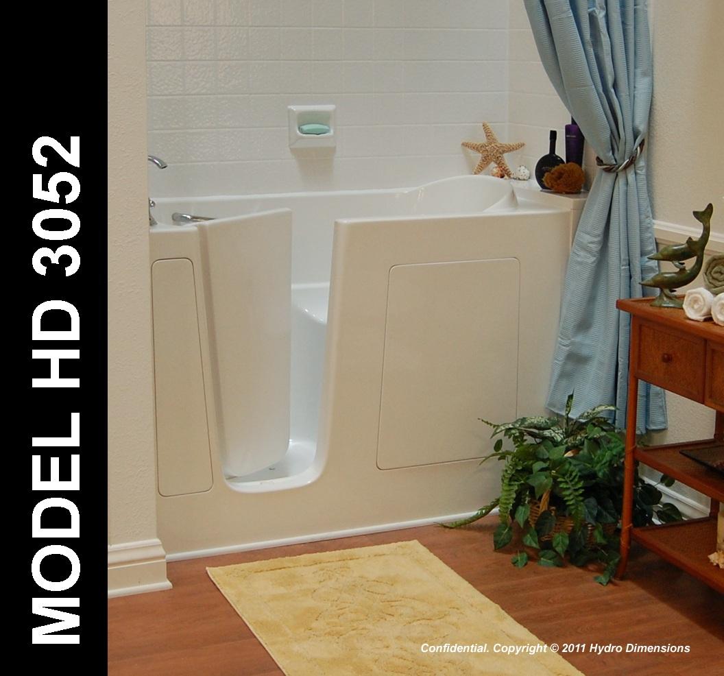 Hydro Dimensions 3052 Walk-In Bathtub