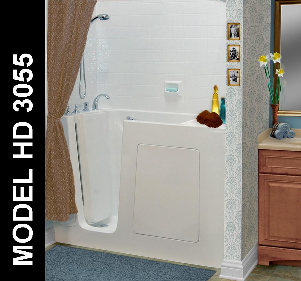 Hydro Dimensions 3055 Walk-in Bathtub