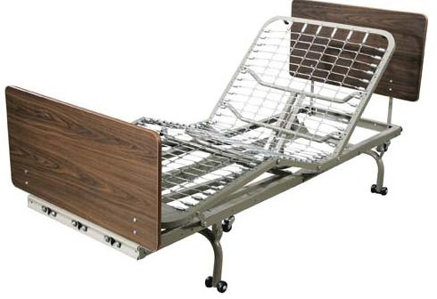 Full Electric Long Term Care Low Bed