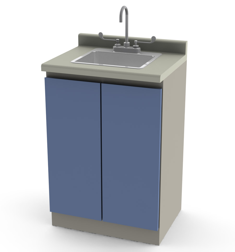 Modular Cabinet with sink