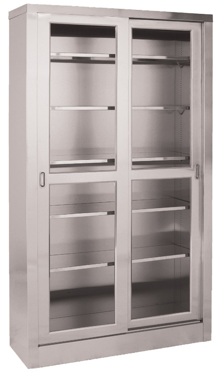 Medical Supplies Storage Cabinet Stainless Steel