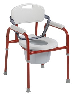 Pediatric Commode Red