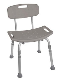 Shower Seat with Removeable Back