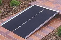 Single Fold Ramp 800 lb Capacity