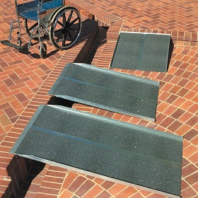 Solid Wheelchair - Scooter Ramps