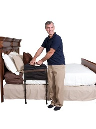 bed rail with legs