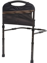 stable bed rail with legs