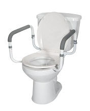 Toilet-Commode Safety Frame